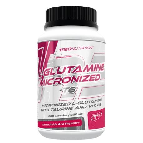 L-GLUTAMINE MICRONIZED T6 300cap
