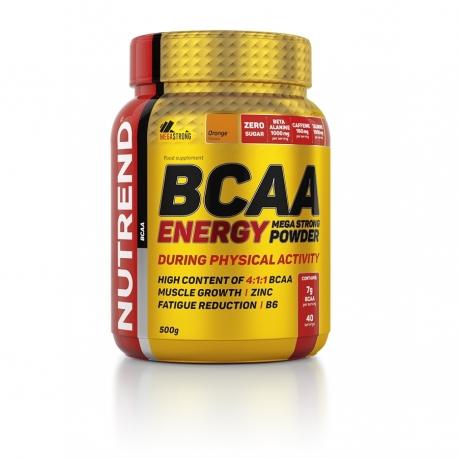 BCAA ENERGY MEGA STRONG POWDER – 500G